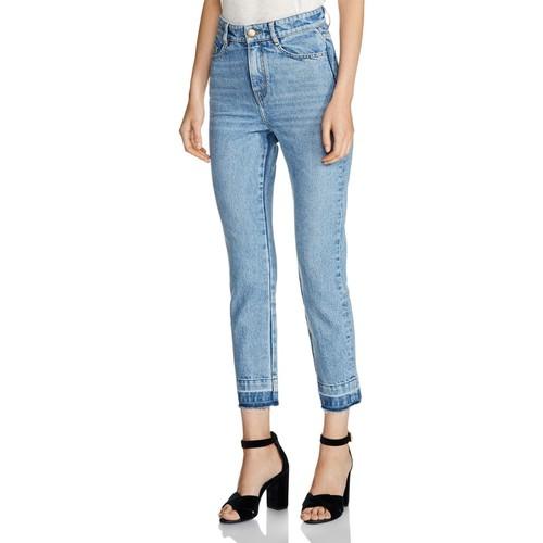 MAJE Parazar Released-Hem Cropped Jeans