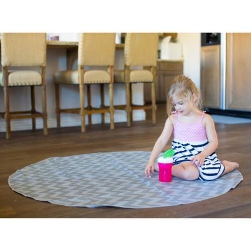 BooginHead Baby Floor Mat - Gray/White