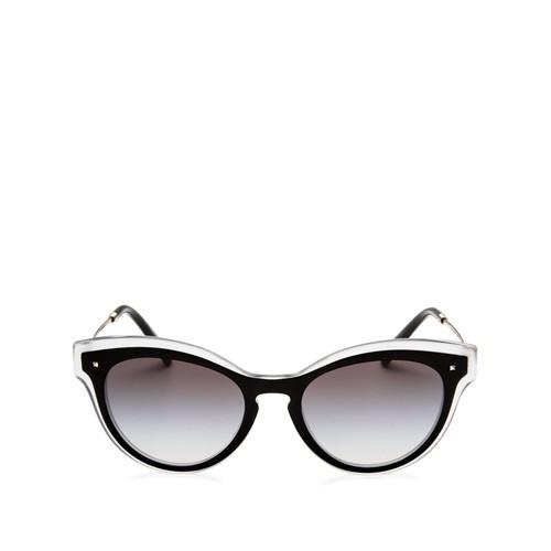 VALENTINO Cat Eye Keyhole Sunglasses, 50Mm