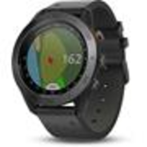 Garmin Approach S60 (Black leather band) Golf GPS watch  covers over 41,000 courses worldwide