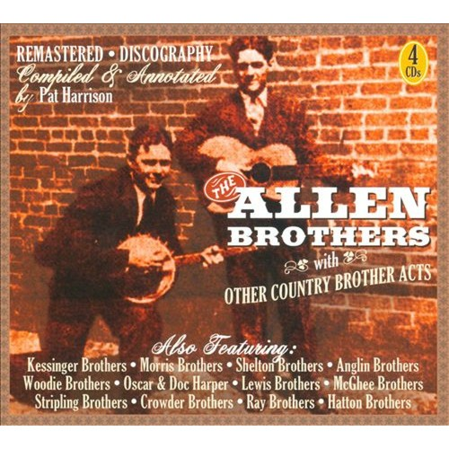 The Allen Brothers & Other Country Brother Acts [CD]