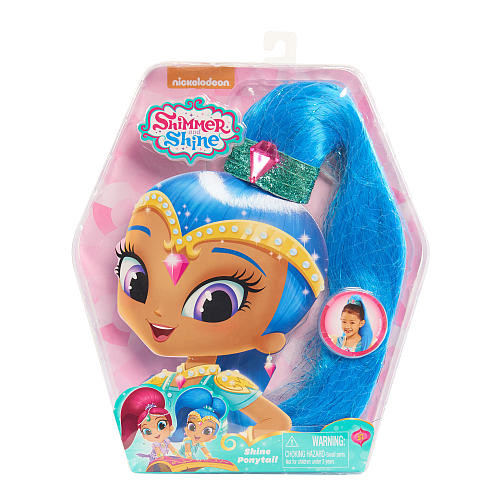 Nickelodeon Shimmer and Shine Ponytail - Blue Shine