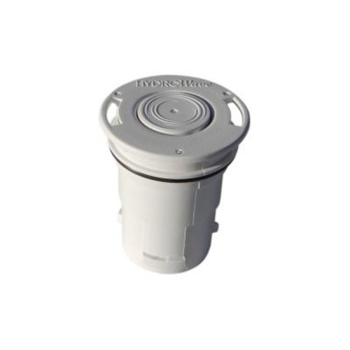 HydroWave HW7 Hi-Flow Blue Square Q360 White In-Floor Pool Pop Up Head Replacement