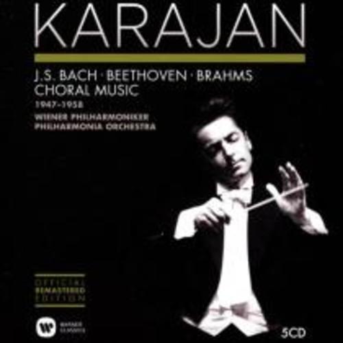 Karajan 1947-1958: Bach, Beethoven, Brahms - Choral Music [CD]