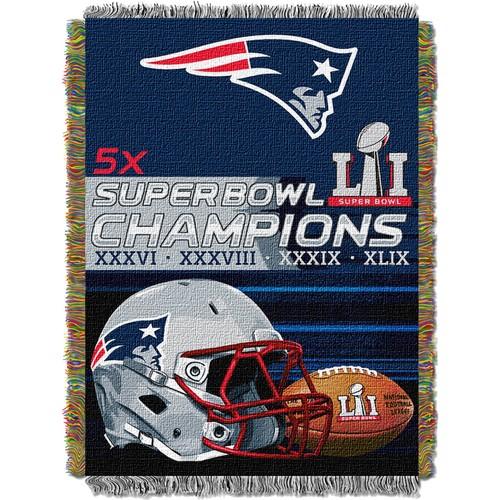 Northwest Super Bowl LI Champions New England Patriots Tapestry Blanket