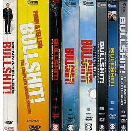 Penn & Teller: Bullshit! - Seasons 1-8 [16 Discs]