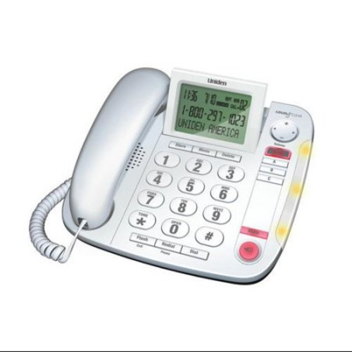 Refurbished Uniden CEZ260 Corded Speakerphone with Call-Waiting Caller ID