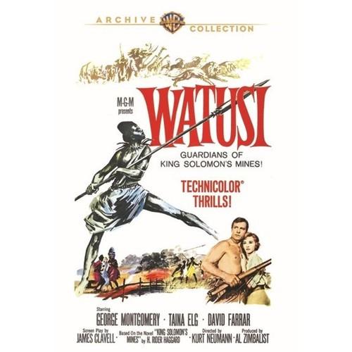 Watusi [DVD] [1959]