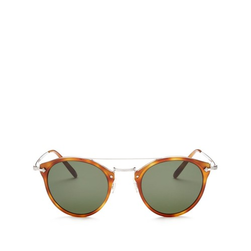 Remick Round Sunglasses, 50mm