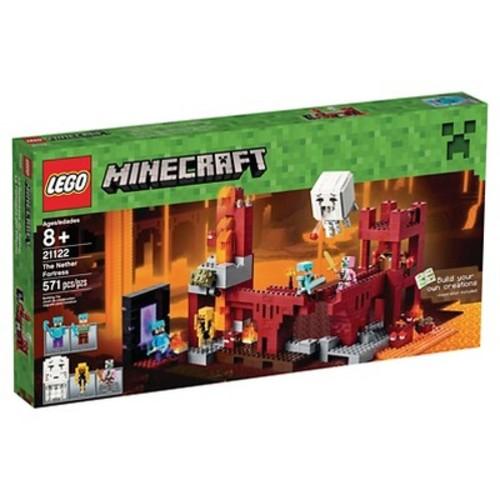 LEGO Minecraft Nether Fortress 21122