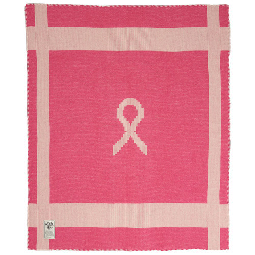 WOOLRICH Breast Cancer Awareness Throw