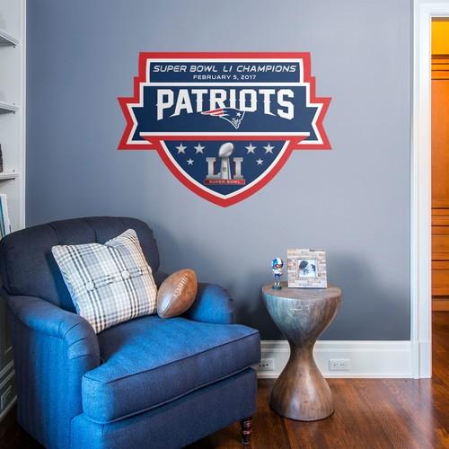 Fathead Super Bowl LI Champions New England Patriots Real Big Decal