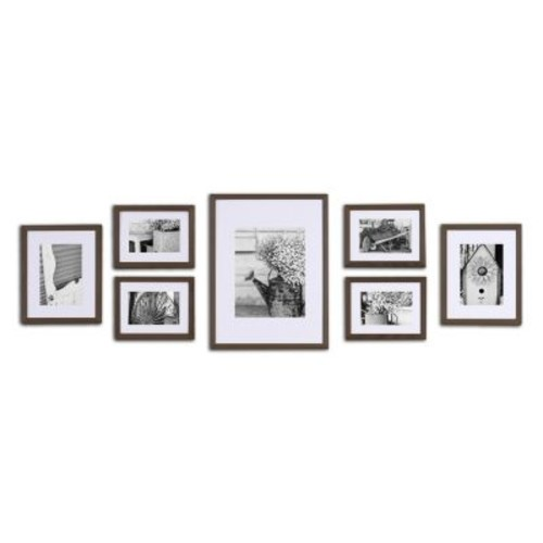 Gallery Perfect 7-piece Matted Frame Set