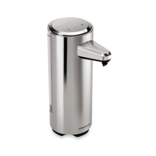 simplehuman Rechargeable Bath Sensor Pump in Brushed Nickel