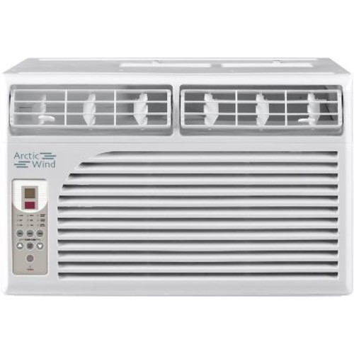 Arctic Wind Energy Star 8,000 BTU 115V Window Air Conditioner with Remote Control