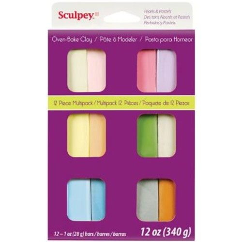 Polyform Pastels Sculpey III Multi Packs Oven Bake Polymer Clay
