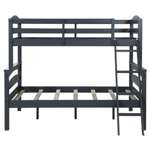 Maddox Bunk Bed (Twin Over Full) Gray - Dorel Living