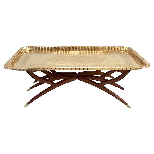 1960s Spider Tray Coffee Table