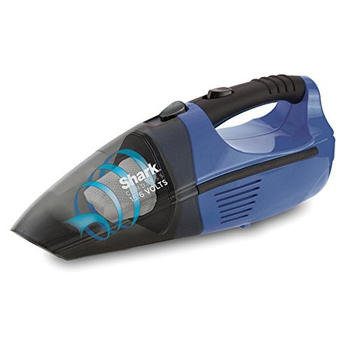 Shark Cordless Pet Perfect Hand Vacuum, Blue and Charcoal (SV75Z)