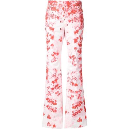 GIAMBATTISTA VALLI Floral Print Trousers