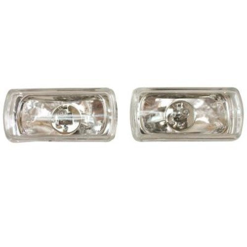Blazer International 4 in. Wide Rectangular Halogen Driving Light Kit with Radiant Effects