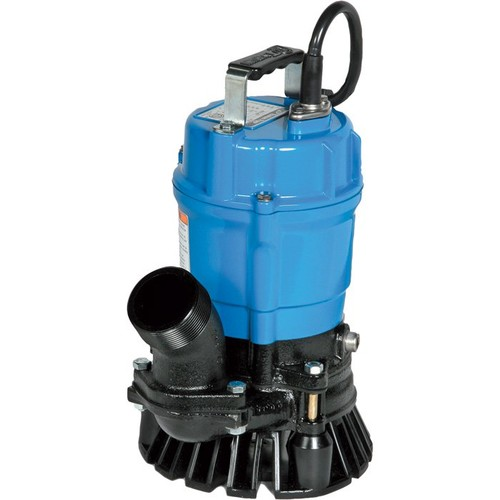 Tsurumi Sand/Trash Water Pump  4200 GPH, 1 HP, 3in. Ports, 60-Ft. Max. Total Head, Model# HS3.75S-62