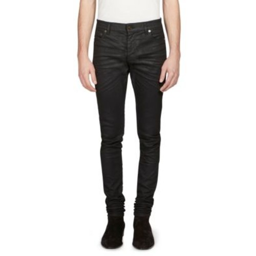 SAINT LAURENT Raw Regular Jeans