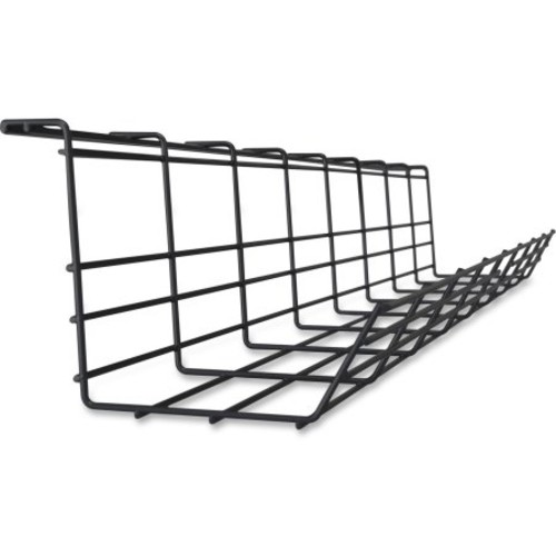 Lorell Mounting Tray For Cable - Black (llr-25991)
