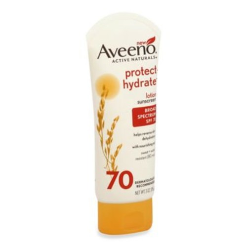 Aveeno 3 oz. Protect + Hydrate Lotion Sunscreen with Broad Spectrum SPF 70