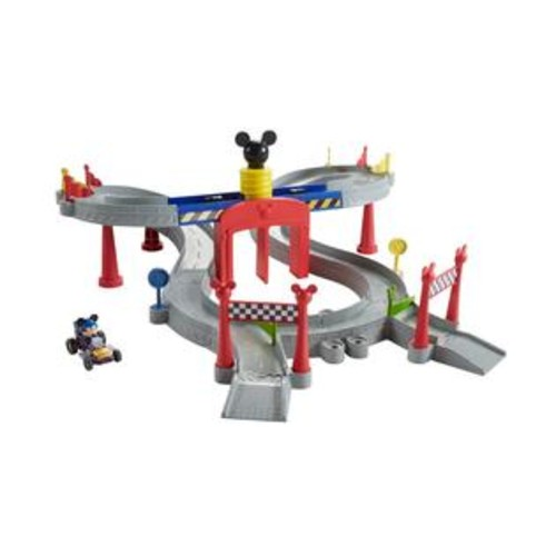 Fisher -Price Disney Mickey and the Roadster Racers Mickey Ears Raceway Track Set