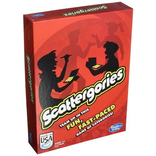 Scattergories Game [Scattergories]