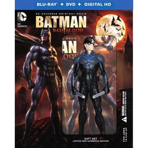 Batman: Bad Blood [Deluxe Edition] [Includes Digital Copy] [UltraViolet] [Blu-ray/DVD] [2 Discs]