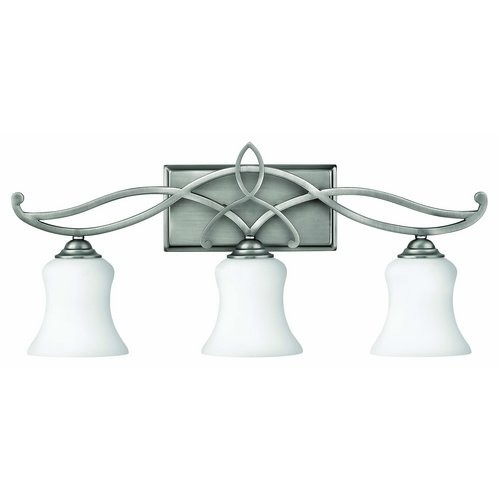 Hinkley Lighting 5003-GU24 3 Light Title 24 Fluorescent Bathroom Vanity Light from the Brooke Collection