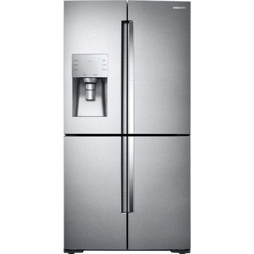 Samsung - ShowCase 28 Cu. Ft. 4-Door Flex French Door Refrigerator - Stainless steel