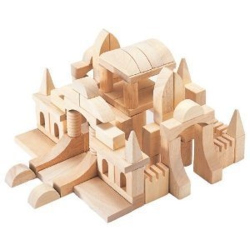 Guidecraft Tabletop Start Building Blocks Set [Multicolor, None]