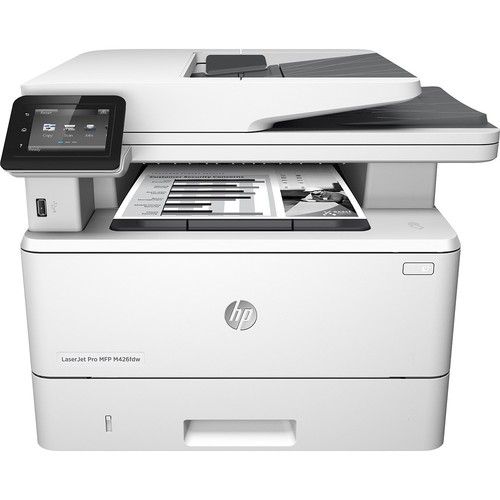 HP - Refurbished LaserJet Pro m426fdw Wireless Black-and-White All-In-One Printer - White