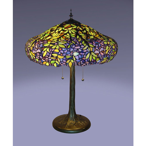 Tiffany-style Laburnum Table Lamp