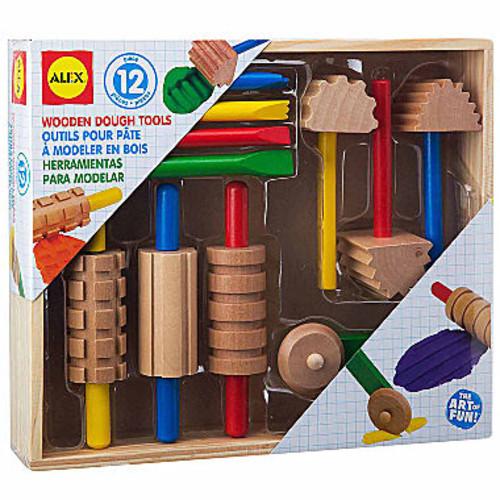 ALEX Toys Artist Studio Wooden Dough Tools Set 12Piece