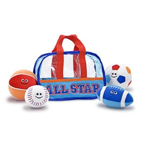 Melissa & Doug Sports Bag Fill and Spill Baby and Toddler Toy [Sports Bag]