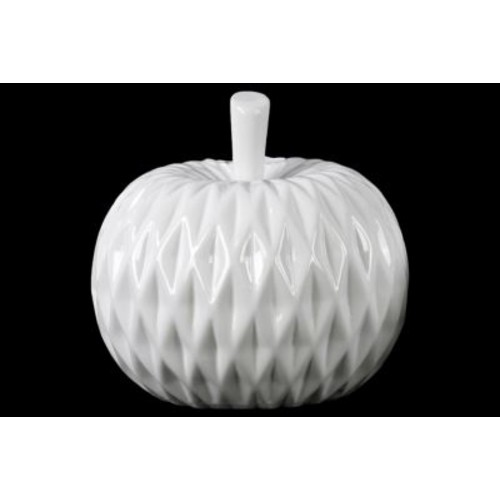 Urban Trends Apple Figurine; 6'' H x 6.75'' W x 6.75'' D