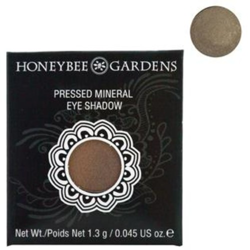 Honeybee Gardens, Pressed Mineral Eye Shadow, Tippy Taupe, 0.045 oz (1.3 g)