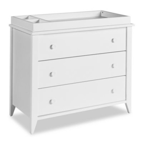 Babyletto Sprout 3-Drawer Changer Dresser in White