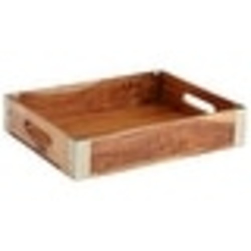 Cyan Design Wembley Tray Wembley 12.75 Inch Wide Wood Tray Made in India