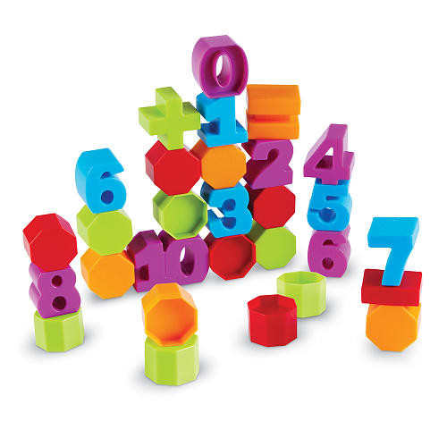 Learning Resources Numbers and Counting Building Blocks 36 Pieces