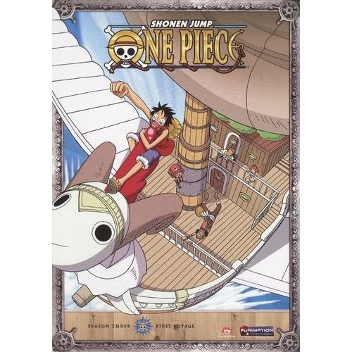One Piece: Season 3 - First Voyage [2 Discs] [DVD]