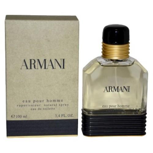 Giorgio Armani Eau de Toilette Spray, 3.4 Ounce