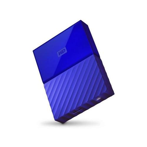 WD Western Digital 2TB My Passport Portable Hard Drive USB 3.0 Model Model WDBYFT0020BBL-WESN Blue