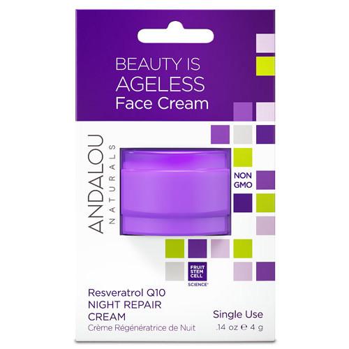 Andalou Naturals Q10 Night Repair Cream Pod -- 0.14 oz