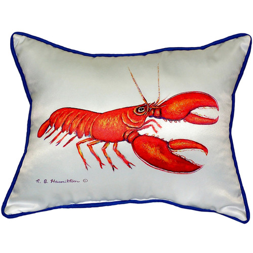 Red Lobster 20-inch x 24-inch Throw Pillow