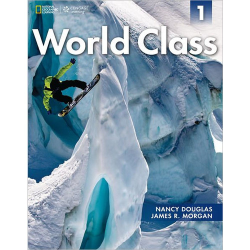 World Class 1 Student Book with CD-ROM